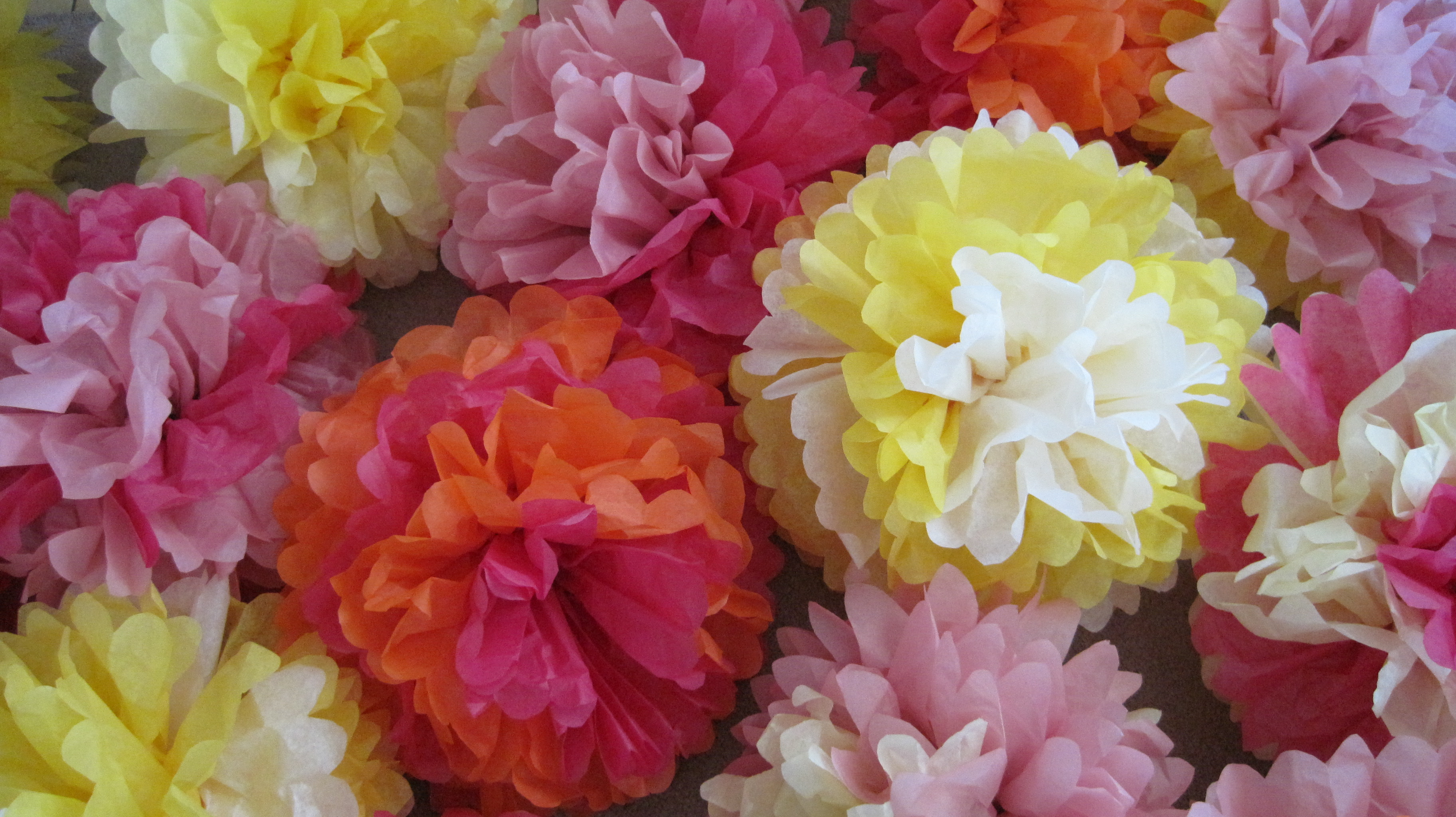 Pin Mexican Paper Flowers Made From Bright Colours Tissue on Pinterest